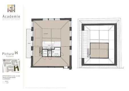 Exclusieve loft in project Academie (Gent)