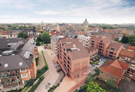 Nieuwbouwproject de Looierij in Poperinge