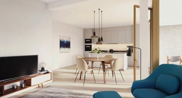 Bel appartement à 3 chambres dans un environnement verdoyant