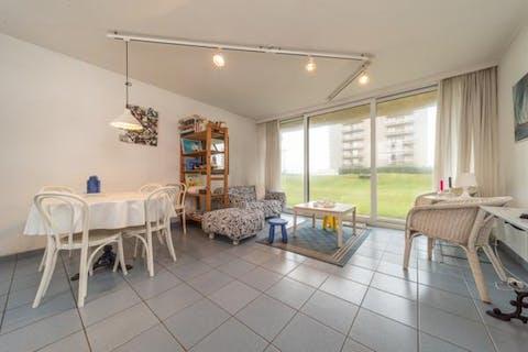 Appartement met twee slaapkamers vlakbij zee in De Panne