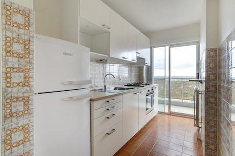 Deels te vernieuwen één-slaapkamer appartement te Mechelen