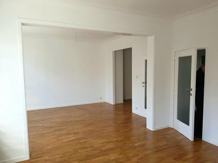 ULB Area : spacious and bright 2 bedr apartment of 100m²