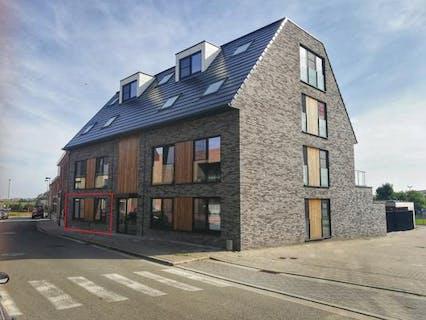 Gelijkvloers nieuwbouw appartement (112 m²) met groot terras en 2 slaapkamers te huur te Beselare