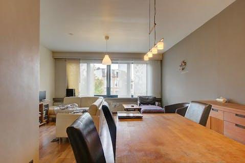 Appartement met 1 slaapkamer en terras aan de Steynstraat te Hoboken