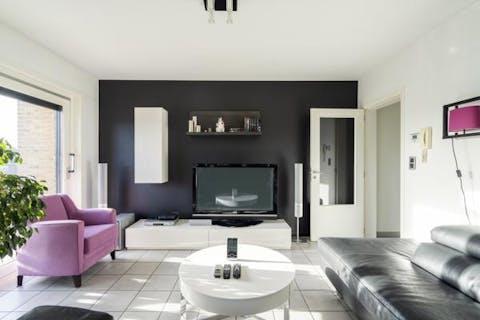 Instapklaar appartement met 2 slaapkamers te koop in Harelbeke