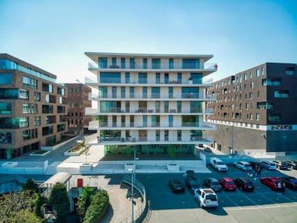 Appartement te koop met 2 slaapkamers en terras vlakbij het station van Brugge