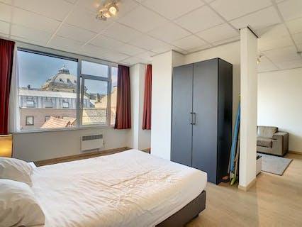 Prachtig 1 slaapkamer appartement te koop in Brussel centrum