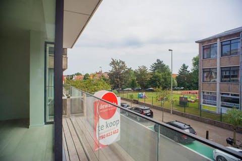 Subliem afgewerkt nieuwbouwappartement centrum Knokke