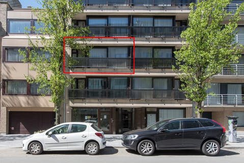 Ruim appartement met 2 slaapkamers te Oostende