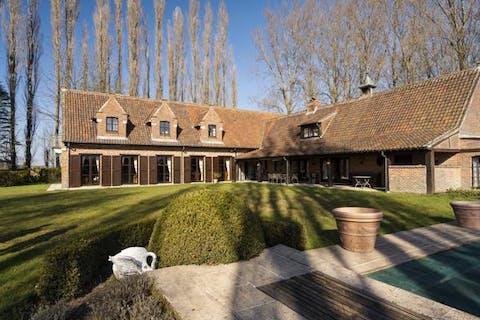 Exclusief landhuis te koop in Wortegem-Petegem