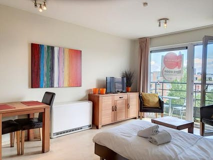 Ready to move in furnished studio in Schaerbeek!