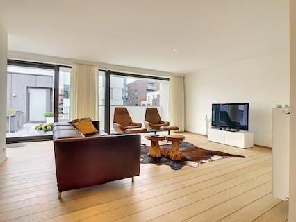 Luxueus appartement met 3 slaapkamers en terras te Roeselare.