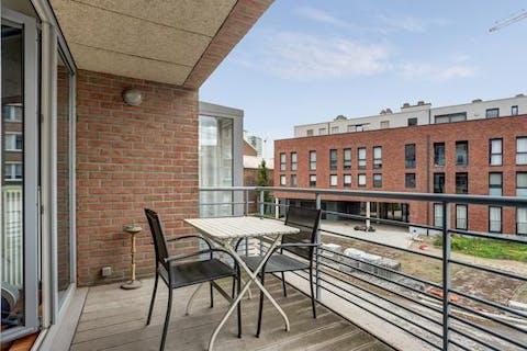Appartement met terras  te koop te Antwerpen Noord