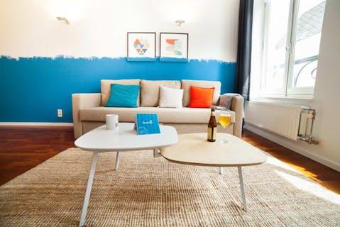 Sablon | Beautiful furnished 1 bedroom apartment