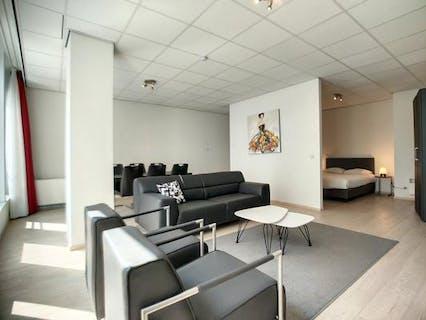 Bemeubeld 2 slaapkamer appartement te koop in Brussel