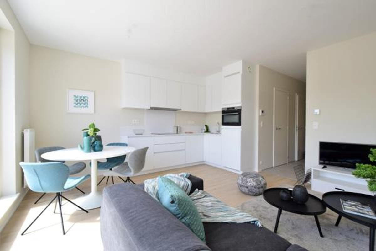 Nieuw appartement met terras te Knokke-Heist