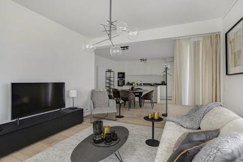 Prachtig 2 slaapkamer appartement in groene omgeving