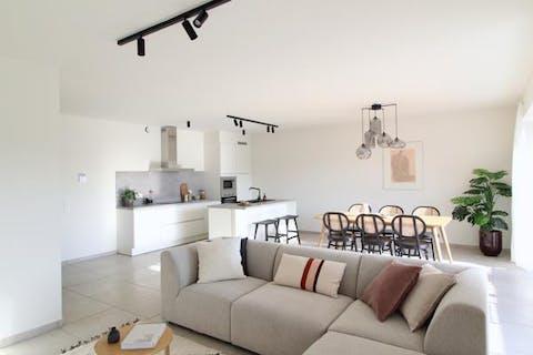 Nieuwbouwappartement 3 slpks (122m²) met terras (19m²)