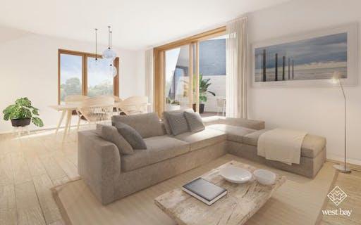 West bay - nieuwbouw 1 slaapkamer appartement met terras