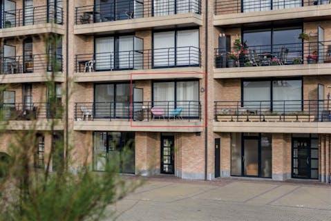 Appartement met 1 slaapkamer in centrum Sint-Idesbald