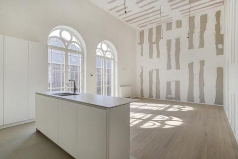Uitzonderlijk 2-slaapkamerappartement in project Academie (Gent)