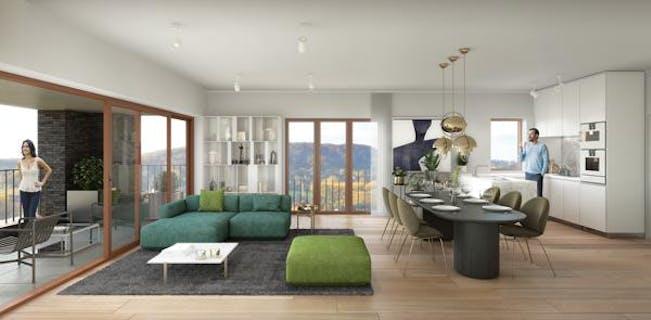 Appartement met 2 slaapkamers en terras te koop
