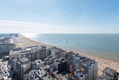 Appartement met fantastisch uitzicht te Oostende