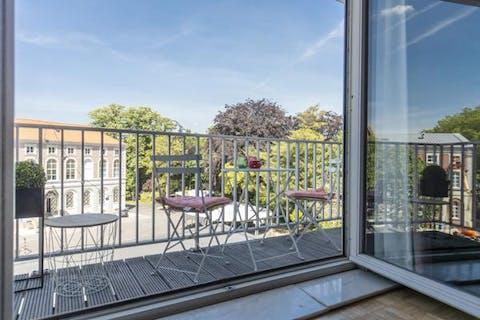 Ruim en instapklaar appartement te huur in centrum Kortrijk