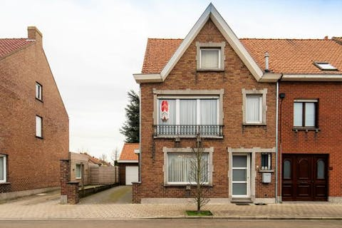 Huis half open bebouwing te koop in Harelbeke