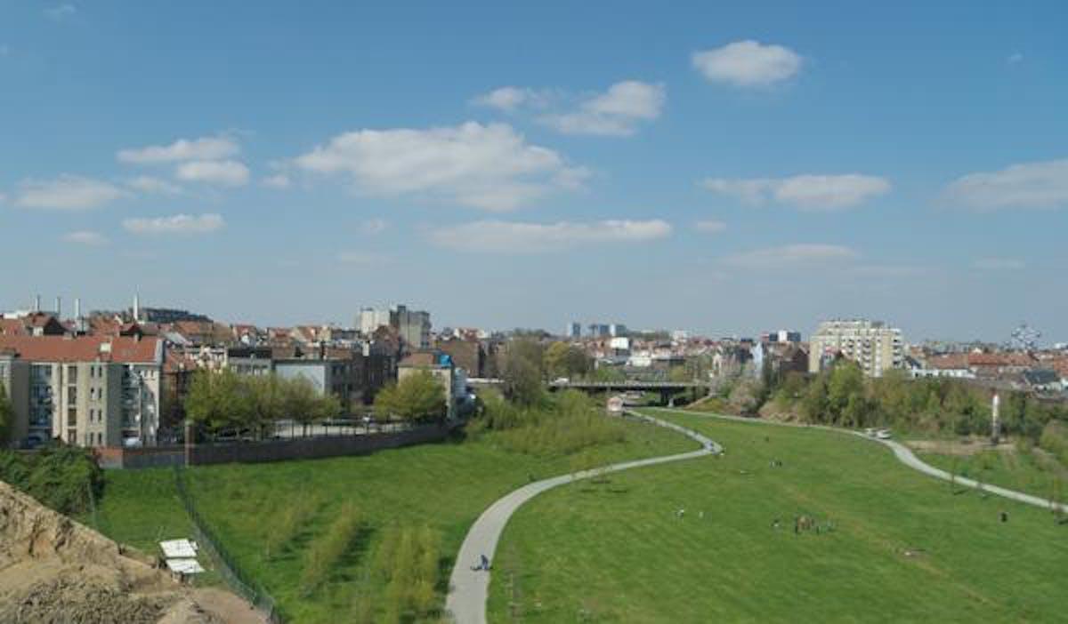 Penthouse te koop op Tour&Taxis in Brussel