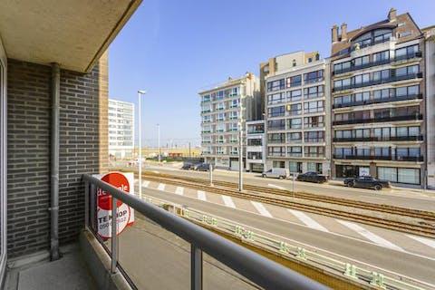 Net appartement vlakbij de zeedijk van Knokke-Heist
