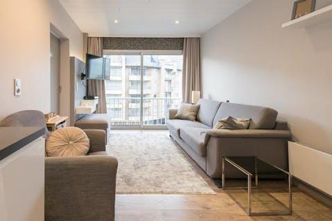 Appartement met één slaapkamer te Westende-Bad.