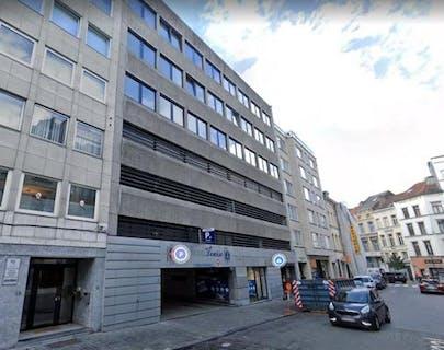 Car parking in Saint-Gilles Brussels