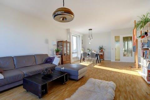 Appartement met terras en prachtig uitzicht te koop in Borgerhout.