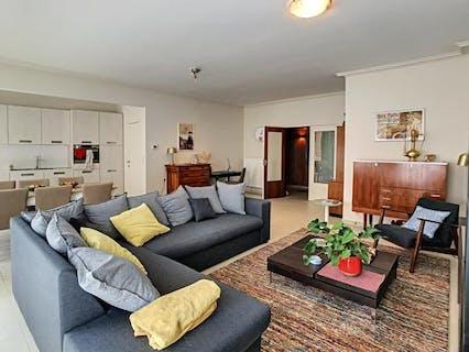 Centraal gelegen, gezellig appartement met 2 slaapkamers en terras te Brugge