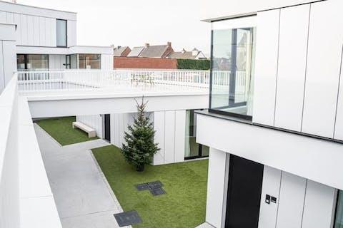 Serviceflat met 2 slaapkamers te Torhout.