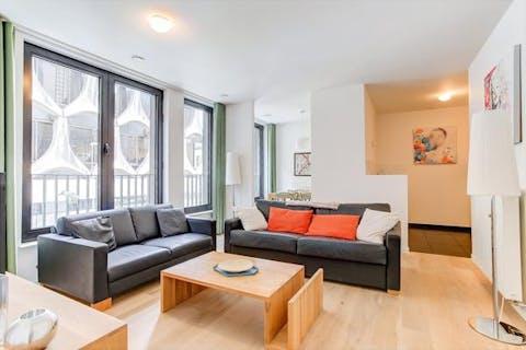 Prachtig appartement met 1 slaapkamer in centrum Brussel!