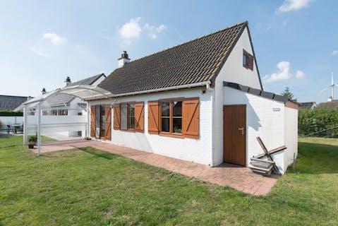Rustig gelegen vakantiehuisje met tuin te Nieuwpoort!