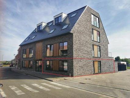 Gelijkvloers nieuwbouw appartement (112 m²) met groot terras en 2 slaapkamers