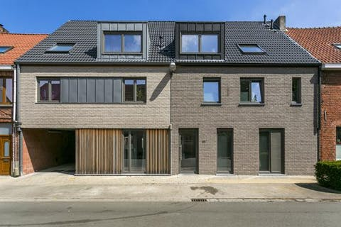 Gelijkvloers appartement met 1 slaapkamer te Sint-Kruis (Brugge)