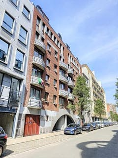 Spacious apartment with 2 bedrooms in Brussels