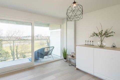 Gerenoveerd appartement met zonnig terras te Oostende