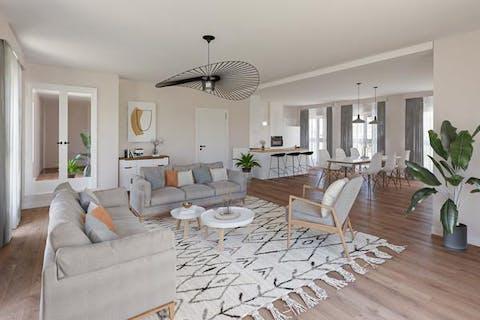 Appartement (155m²) te koop in Ieper centrum met 3 slaapkamers