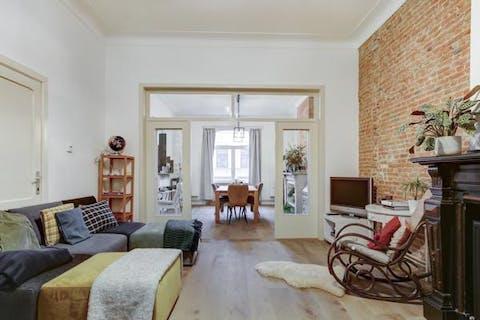 Prachtig appartement in oud herenhuis te Antwerpen Zuid