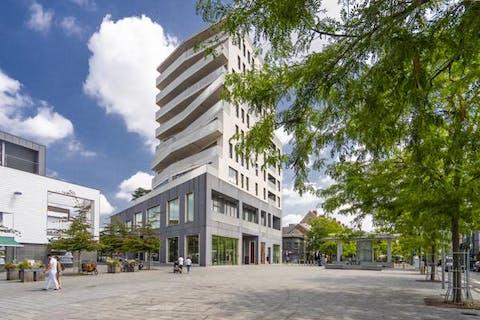 Verzorgd appartement met magnifiek terras te huur in centrum Kortrijk