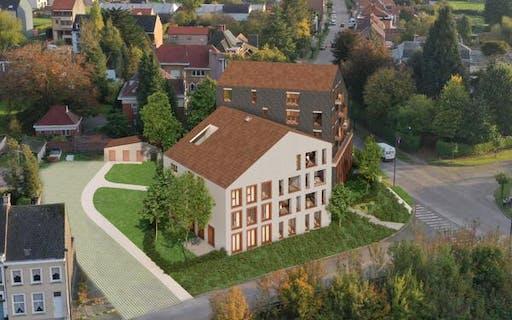 Appartement met 1 slaapkamer voorzien van tuin en terras