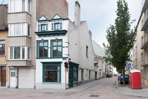 Handelswoonst met atelier te Oostende