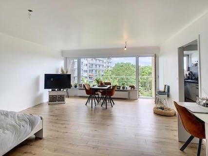 Totaal vernieuwd 2-slaapkamerappartement op de 4de verdieping te huur te Sint-Andries