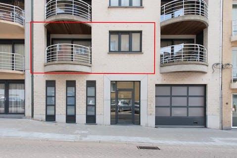 Uiterst ruim appartement met 2 slaapkamers te Oostende
