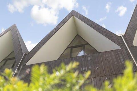 Nieuwbouw huis te koop met 2 slaapkamers en 2 terrassen in centrum Brugge